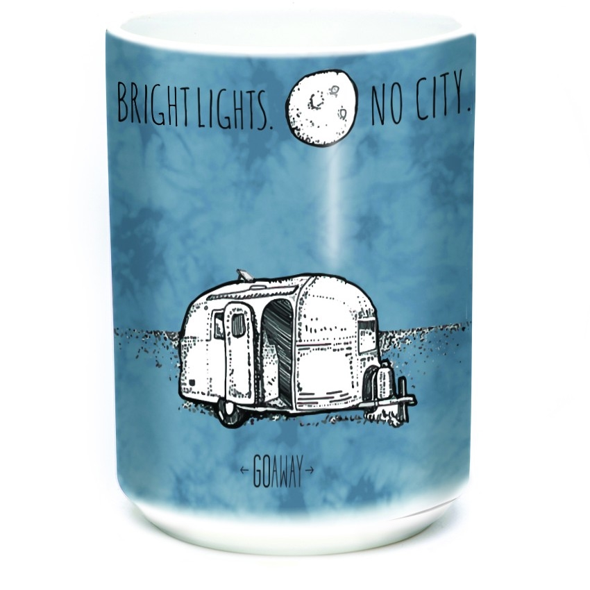 Bright Lights...No City...Go Away - 57-6307-0901 - Coffee Mug