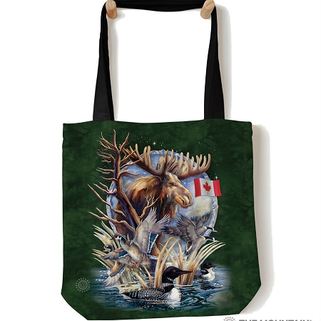 Canada Loon Collage - 97-6121 - Everyday Tote