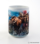 Canadian Moose Collage - 57-6124-0901 - Everyday Mug