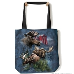 Canadian Moose Collage - 97-6124 - Everyday Tote