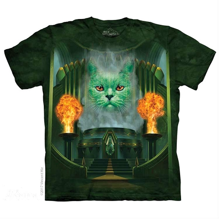 Cat the Great and Powerful - 10-5902 - Adult Tshirt