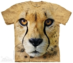 Big Face Cheetah - 44-7040 - Youth Tshirt