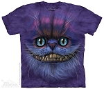 Big Face Cheshire Cat - 10-4005 - Adult Tshirt