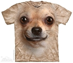 Chihuahua Big Face - 10-3332 - Adult Tshirt