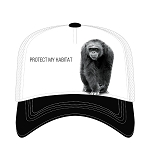 Chimpanzee Protect My Habitat - 76-5553 - Trucker Hat