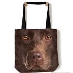 Chocolate Lab Face - 97-3550 - Everyday Tote