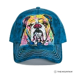 Colorful Bulldog- Dean Russo - 94-3829 - Baseball Cap
