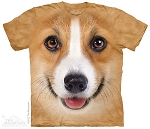 Corgi Face - 10-3622 - Adult Tshirt