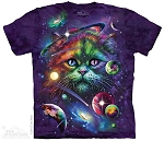 Cosmic Cat - 10-4876 - Adult Tshirt
