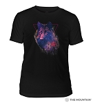 Cosmic Wolf - 54-6328 - Triblend T-shirt