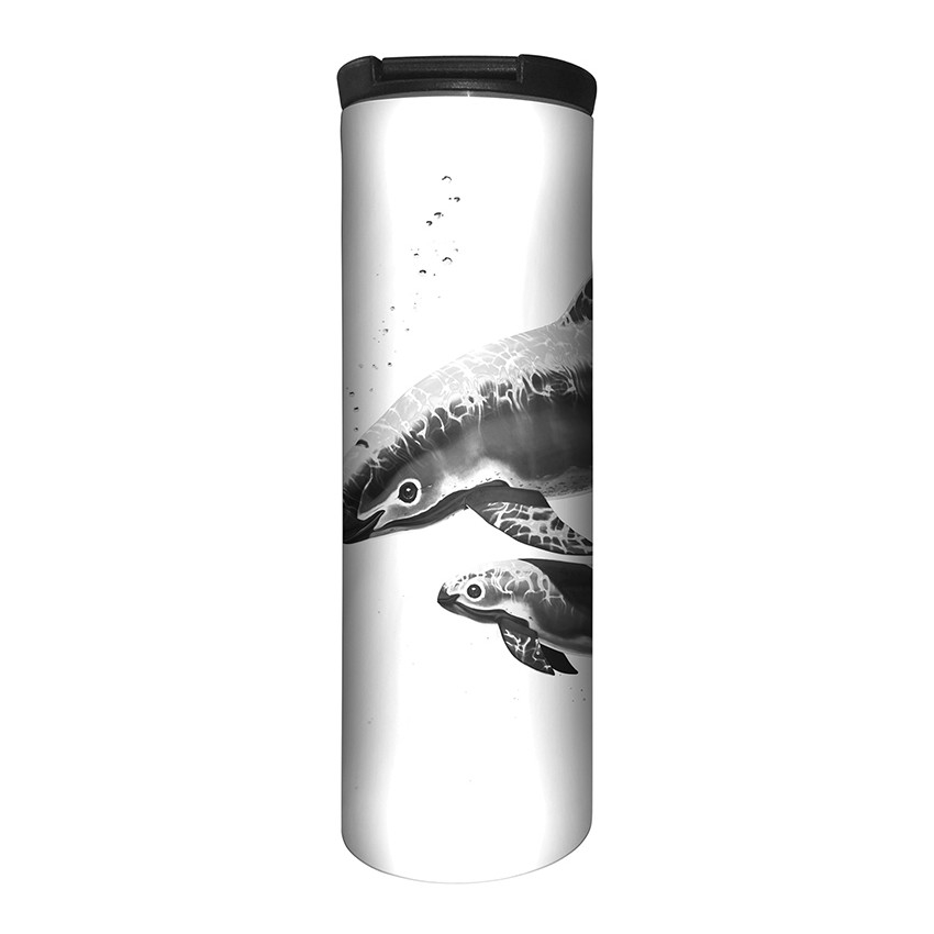 Critically Endangered - 59-5557 - Stainless Steel Barista Travel Mug