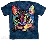 Patches the Cat - 10-3913 - Adult Tshirt