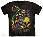 Rainbow Tiger - 15-8553 - Youth Tshirt
