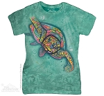 Russo Turtle - Ladies Fitted Tee