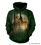 Golden Moment Deer - 72-6167 - Adult Hoodie