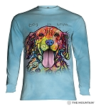 Dog Is Love - 45-4177 - Adult Long Sleeve T-shirt