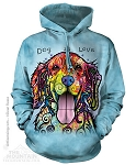 Dog Is Love - Adult Hoodie