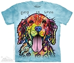 Dog Is Love - 10-4177 - Adult Tshirt