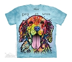Dog Is Love - 15-4177 - Youth Tshirt