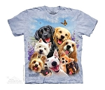 Dogs Selfie - 15-4984 - Youth Tshirt