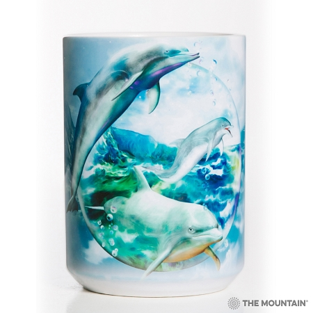Dolphin Bubble - 57-5896-0901 - Everyday Mug