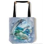 Dolphin Bubble - 97-5896 - Everyday Tote