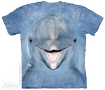 Dolphin Face - 15-3650 - Youth Tshirt