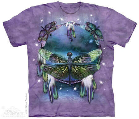 Dragonfly Dreamcatcher The Mountain T-Shirt 3397 All Sizes