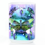 Dragonfly Dreamcatcher - 57-3397-0900 - Coffee Mug