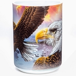 Eagles and Clouds - 57-3370-0900 - Coffee Mug