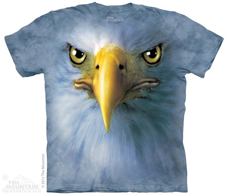 Eagle Face - 10-3438 - Adult Tshirt