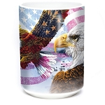 Eagle Flag Collage - 57-8207-0900 - Coffee Mug
