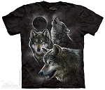 Eclipse Wolves - 10-3398 - Adult Tshirt