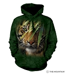 Emerald Forest Tiger - 72-5934 - Adult Hoodie
