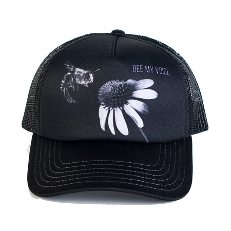 Bee My Voice - 76-6088 - Trucker Hat