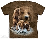 Find 10 Brown Bears - 15-3482 - Youth Tshirt