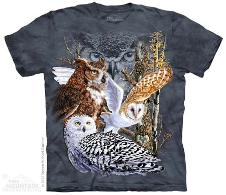 Find 11 Owls - 10-3485 - Adult Tshirt