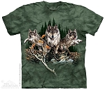 Find 12 Wolves - 15-3448 - Youth Tshirt