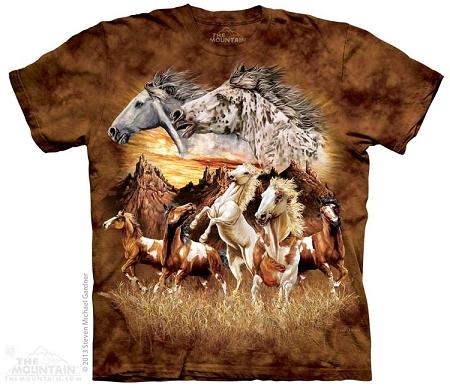 Find 15 Horses - 10-3483 - Adult Tshirt a8e22bd7fbce