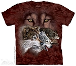 Find 9 Wolves - 15-3459 - Youth Tshirt