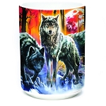 Fire and Ice Wolves - 57-4001-0901 - Everyday Mug