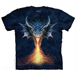 Fire Breather Dragon - 10-5921 - Adult Tshirt