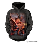 Fire Dragon - 72-5923 - Adult Hoodie