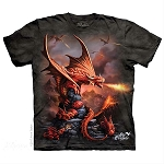 Fire Dragon - 10-5923 - Adult Tshirt