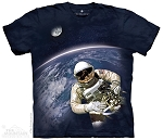 First American Space Walk - 44-7069 - Youth Tshirt