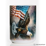 Flag-Bearing Eagle - 57-5958-0901 - Everyday Mug