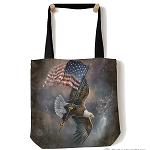 Flag-Bearing Eagle - 97-5958 - Everyday Tote