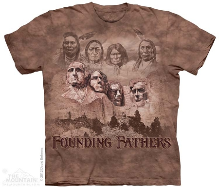 The Founders - 10-3601 - Adult Tshirt - Native American