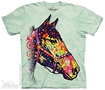 Russo Funky Horse - 10-3912 - Adult Tshirt