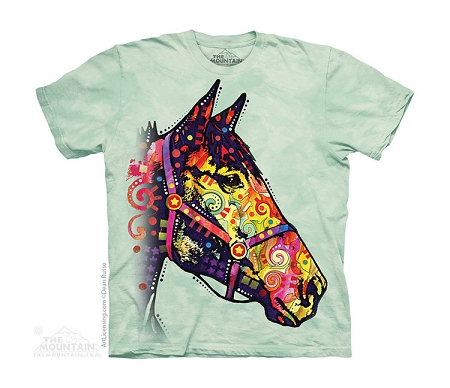 Russo Funky Horse - 15-3912 - Youth Tshirt
